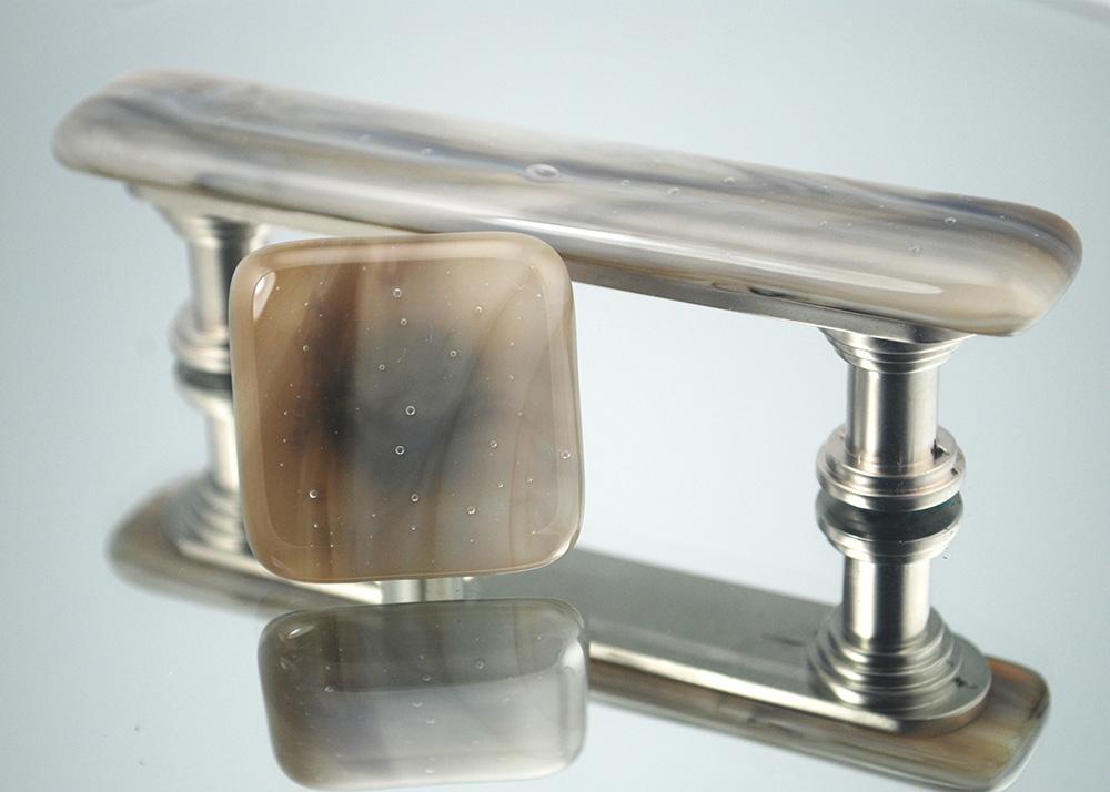 Driftwood Handmade Glass Cabinet Hardware