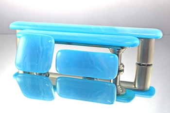 Blue Skies Handmade Glass Cabinet Hardware