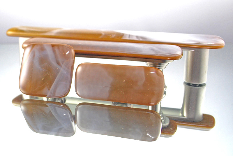 Clouds In Your Coffee Handmade Glass Cabinet Hardware